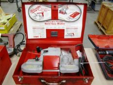 Milwaukee Electric Portable Horizontal Band Saw