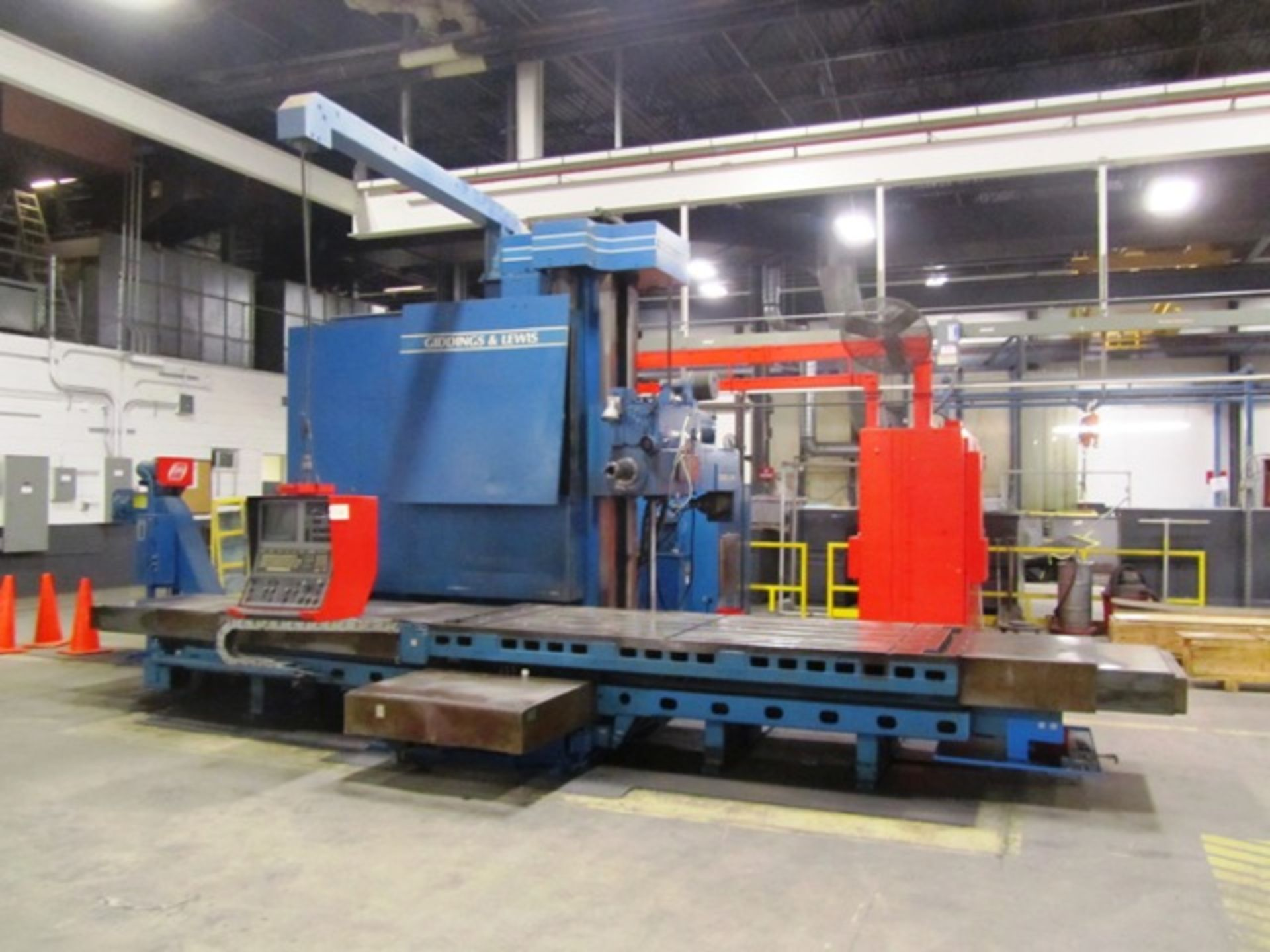 Giddings & Lewis Model 70-G5-T 5'' CNC Table Type Horizontal Boring Mill - Image 3 of 9