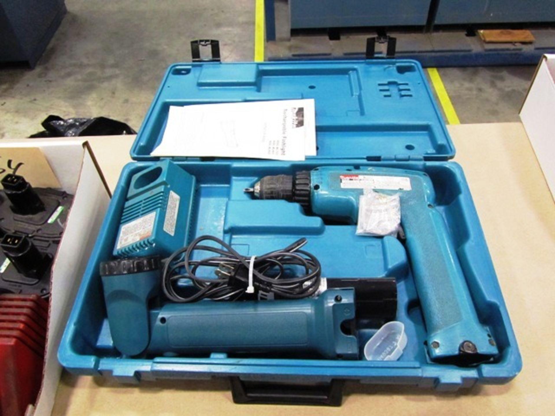 Makita Cordless Drill & Light Kit