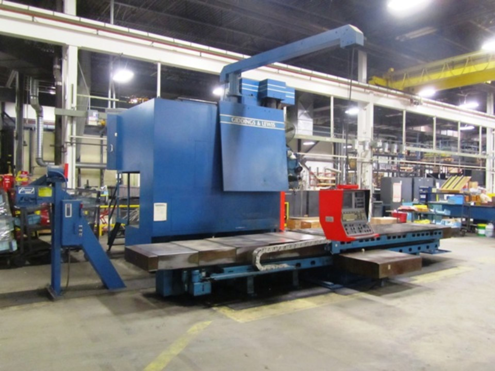 Giddings & Lewis Model 70-G5-T 5'' CNC Table Type Horizontal Boring Mill - Image 5 of 9