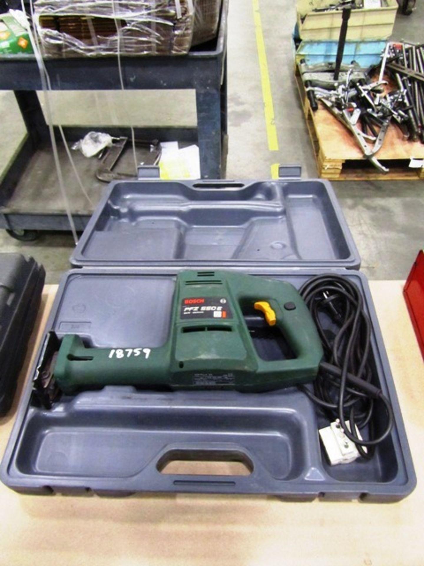 Bosch PFZ 550 E Electric Reciprocating Saw