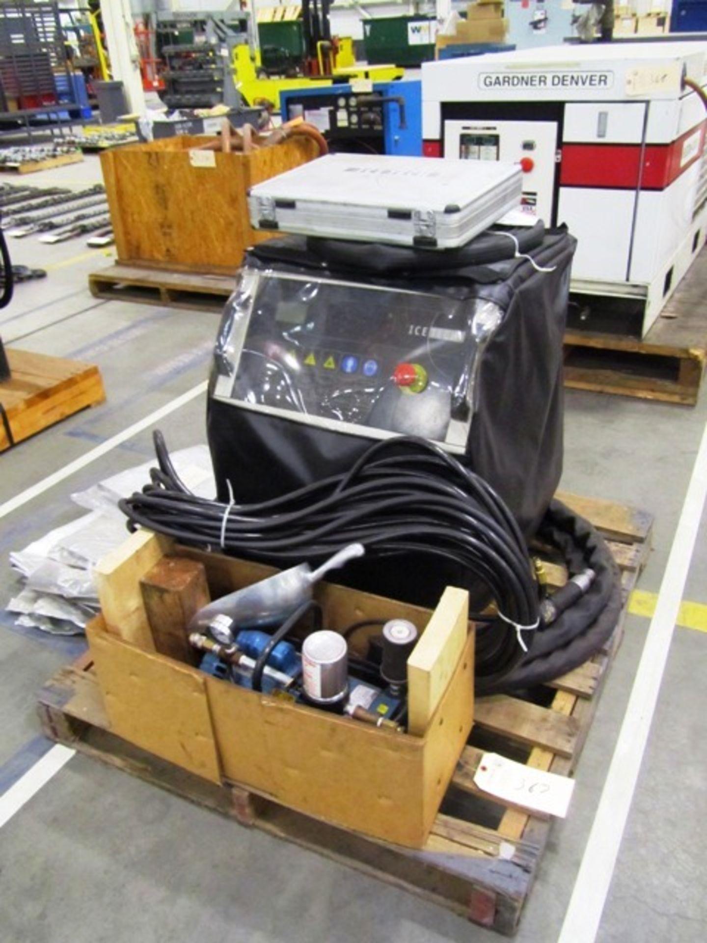 IceTech Model 30PSE2EM613 Ice Blasting Machine