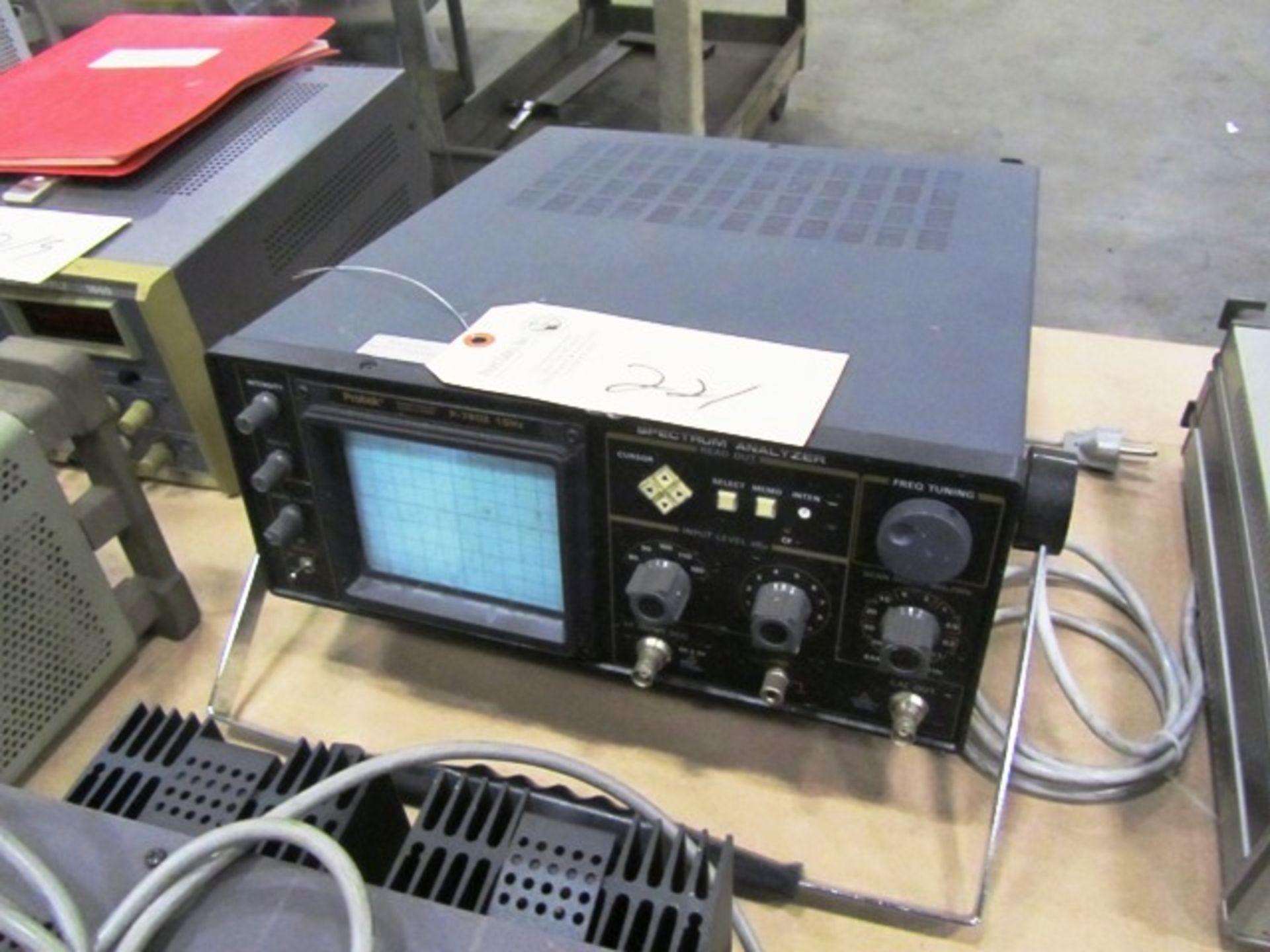 Protek P-7802 10Hz Spectrum Analyzer