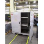 2 Door Heavy Duty Storage Cabinet