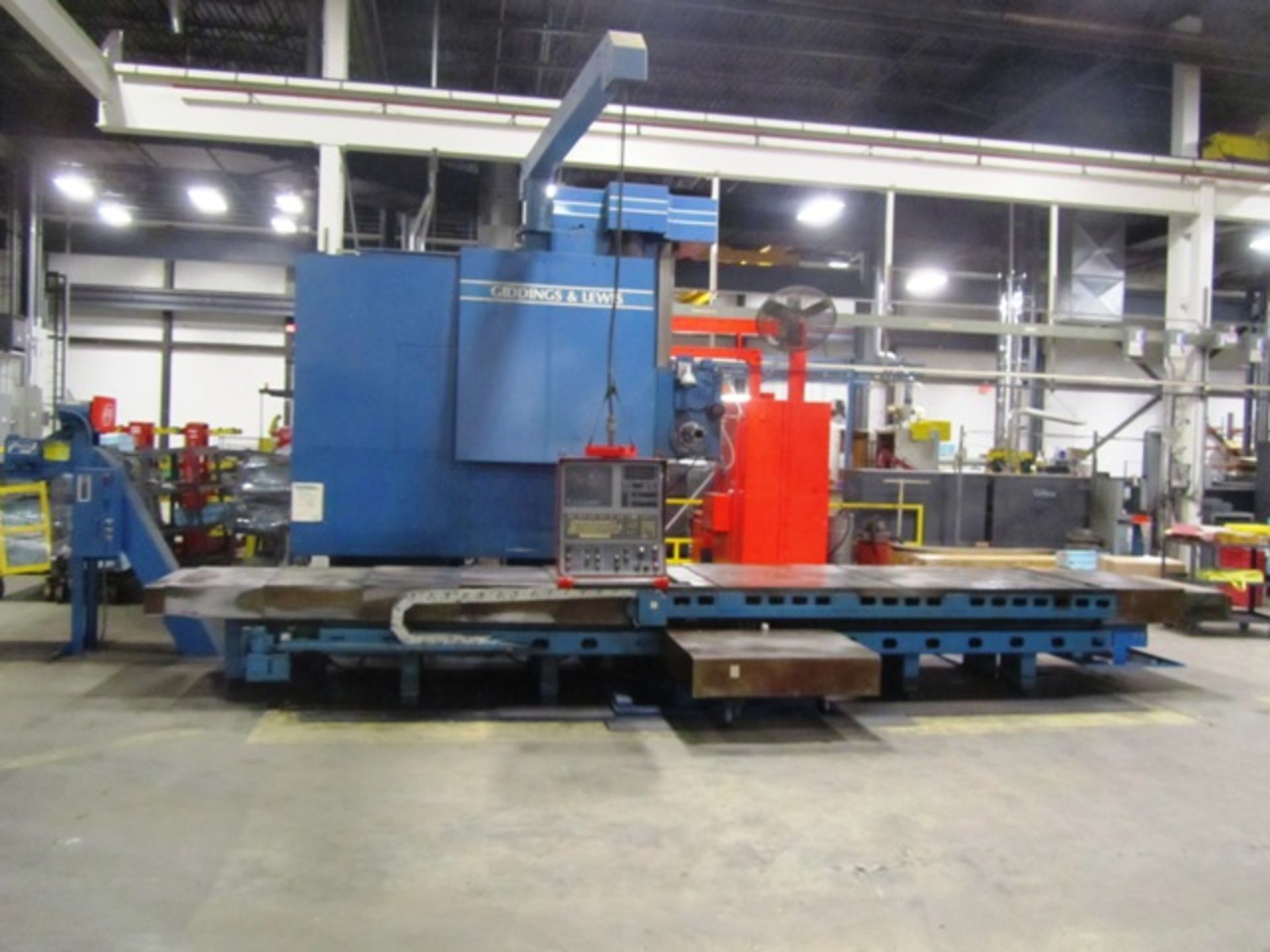 Giddings & Lewis Model 70-G5-T 5'' CNC Table Type Horizontal Boring Mill - Image 4 of 9