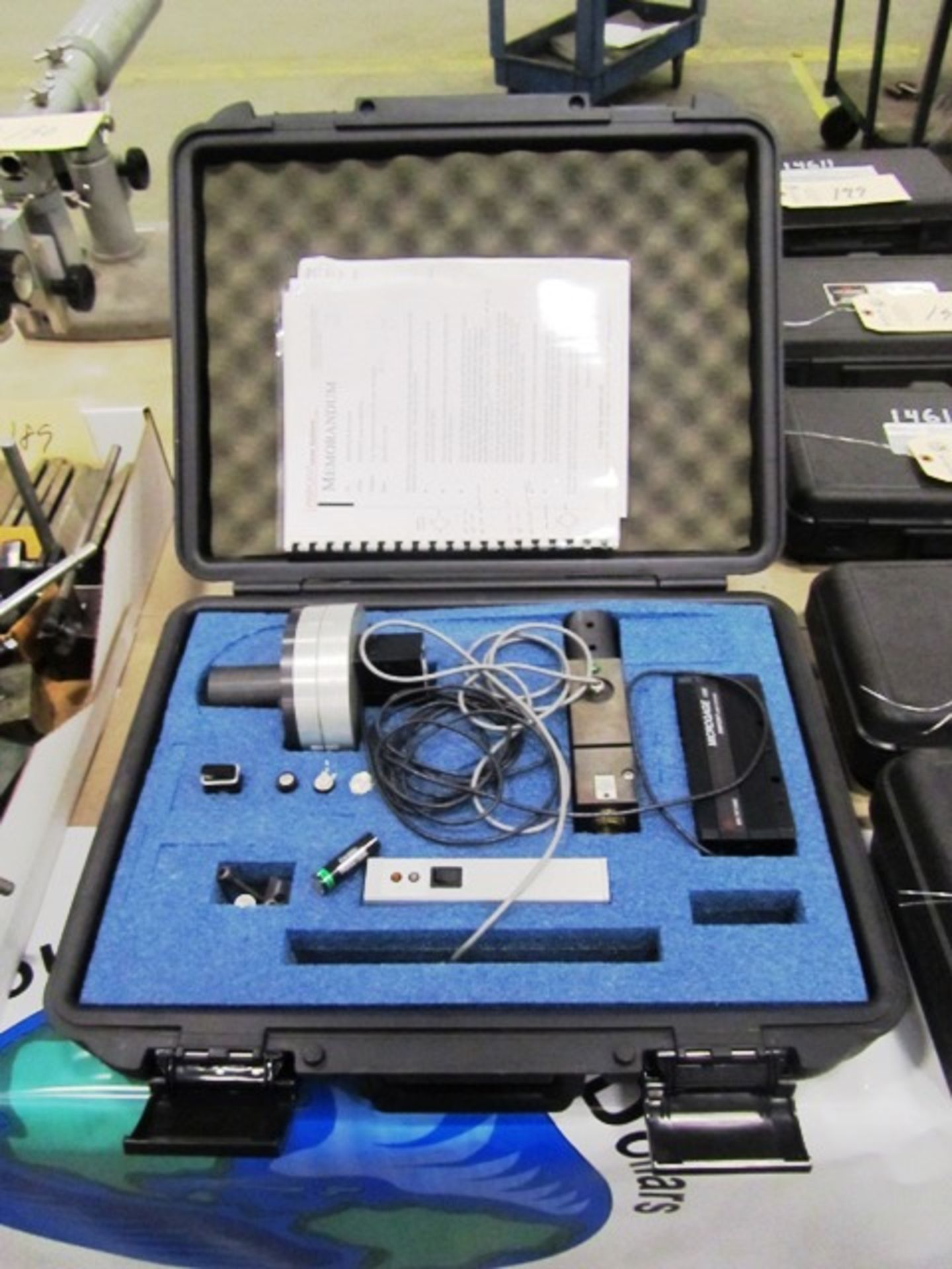 Pinpoint Laser Microgage 1000 System Standard Kit