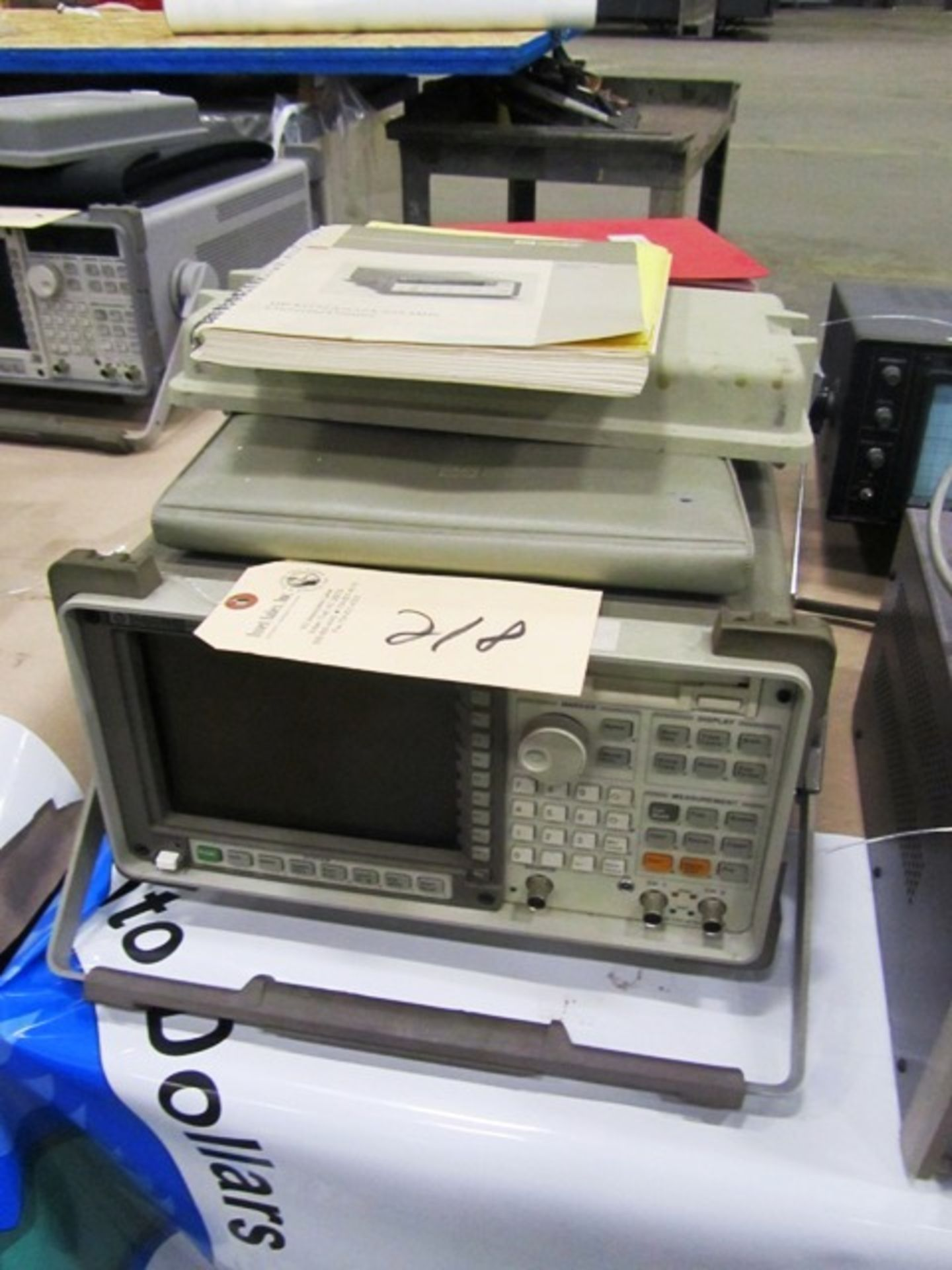 Hewlett Packard 35670A Dynamic Signal Analyzer