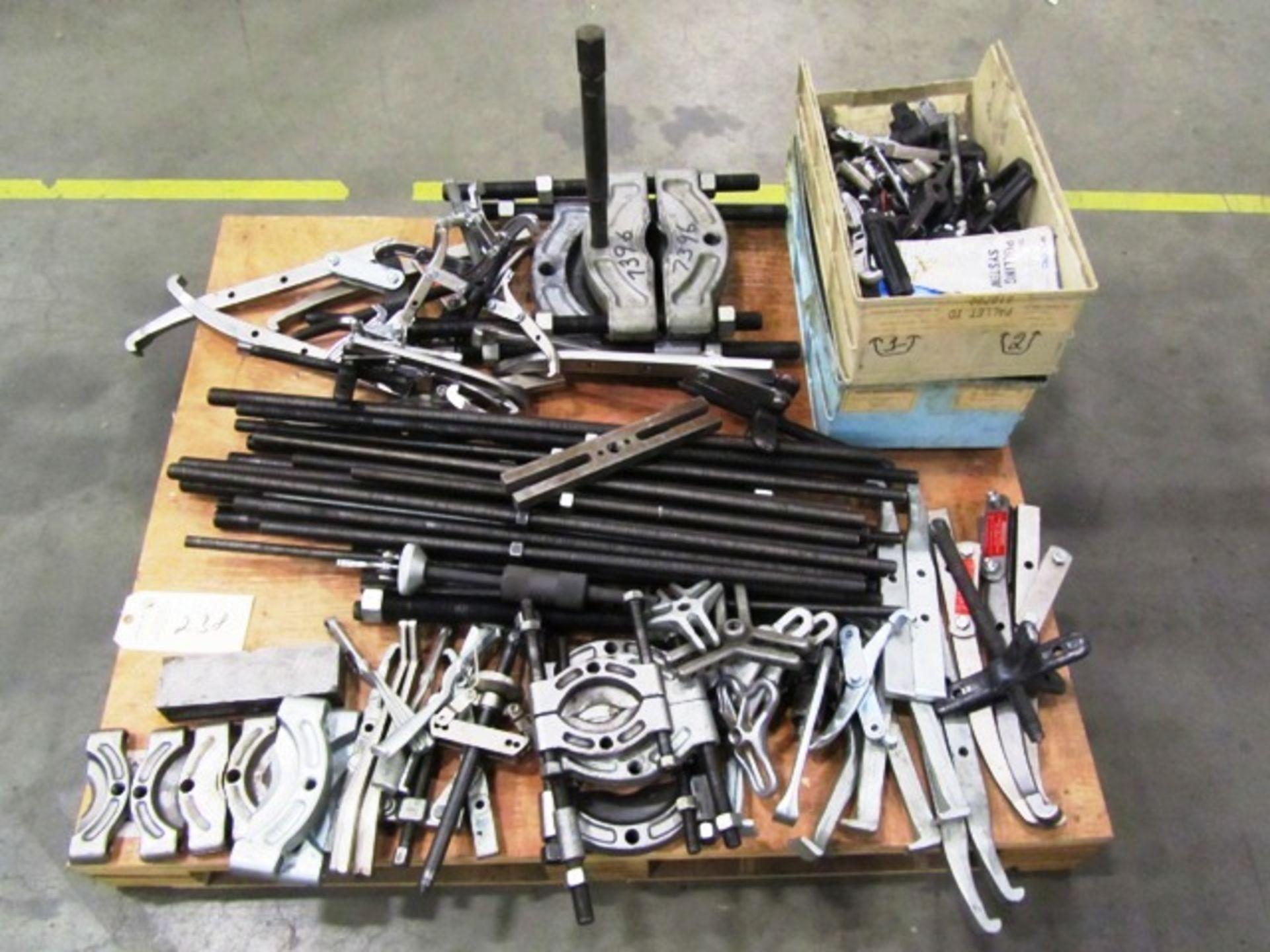 Assorted Bearing & Wheel Pullers