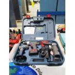 Bosch Cordless Drill, Grinder & Light Kit