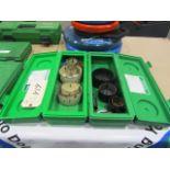 (2) Greenlee Hole Saw Kits