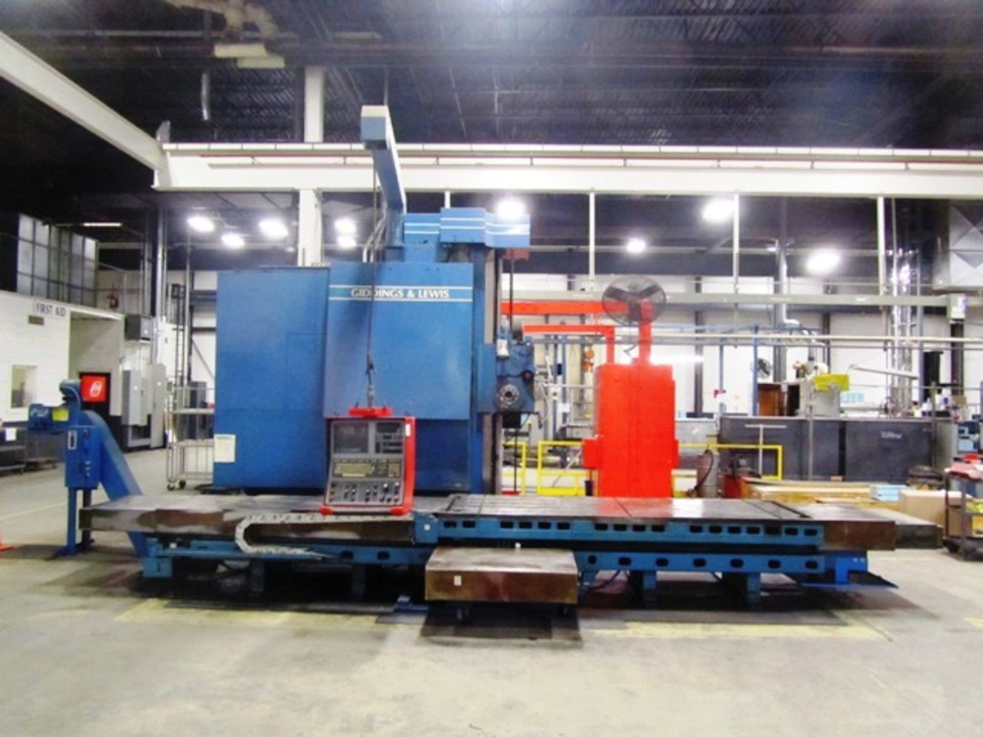 Giddings & Lewis Model 70-G5-T 5'' CNC Table Type Horizontal Boring Mill