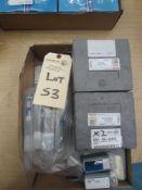 (2) Iscar Tool Holders, (3) 32.5mm Boring Bars, (4) 16mm Boring Bars, (2) Index Tool Holders, (1)