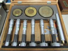 Mitutoyo 0.8'' - 2'' Bore Gauge Set