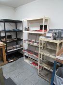 (3) Shelves (no contents)