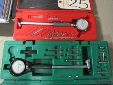 Insize 2'' - 6'' & Shars 1.4'' - 2.4'' Bore Gauges