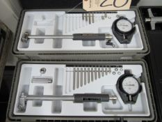 Mitutoyo 1.4'' - 2.5'' & 2'' - 6'' Bore Gauges