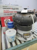 Chicago Electric 120V 18lb Capacity Vibratory Bowl with Media