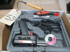 (2) Weller Soldering Gun Kits with (2) Hot Knives