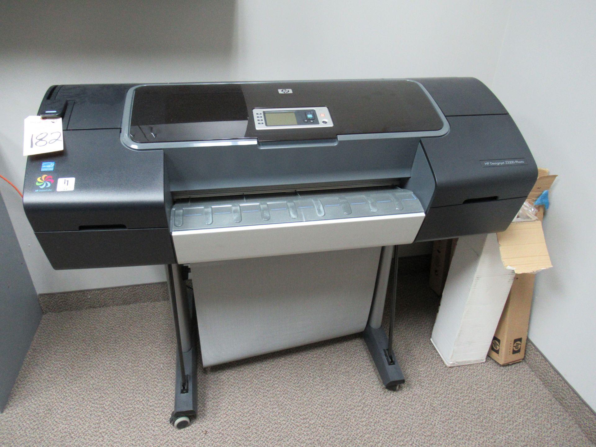 HP DesignJet Z3200 Photo Plot Printer with Plotting Paper