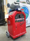 Lincoln Model AC-225 Electric Arc Welder with Welding Mask, (2) Boxes of Stick Electrodes