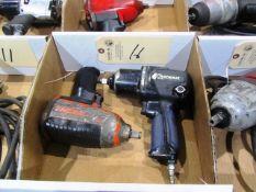 (1) Kobolt & (1) SnapOn 1/2'' Pneumatic Impact Guns