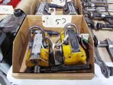 (2) Mag-Mate 800lb Capacity Lifting Magnets