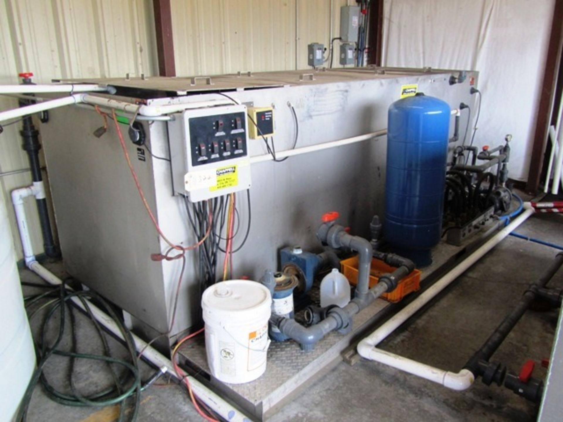 Chappell Model BIO-25R-1M10 Water Reclamation System