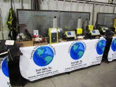 Westward 5'' Bench Vise with Steel Workbench