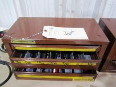 Lawson 3 Drawer Index Box with Drills