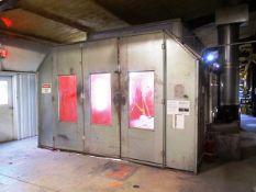 Standard SDD-1000-DTD Side Downdraft Paint Booth