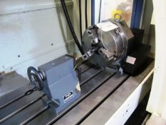 Troyke Model DL-12-B 12'' 4th Axis Rotary Table with Tailstock, sn:622007