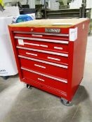 Westward 5 Drawer Portable Tool Box