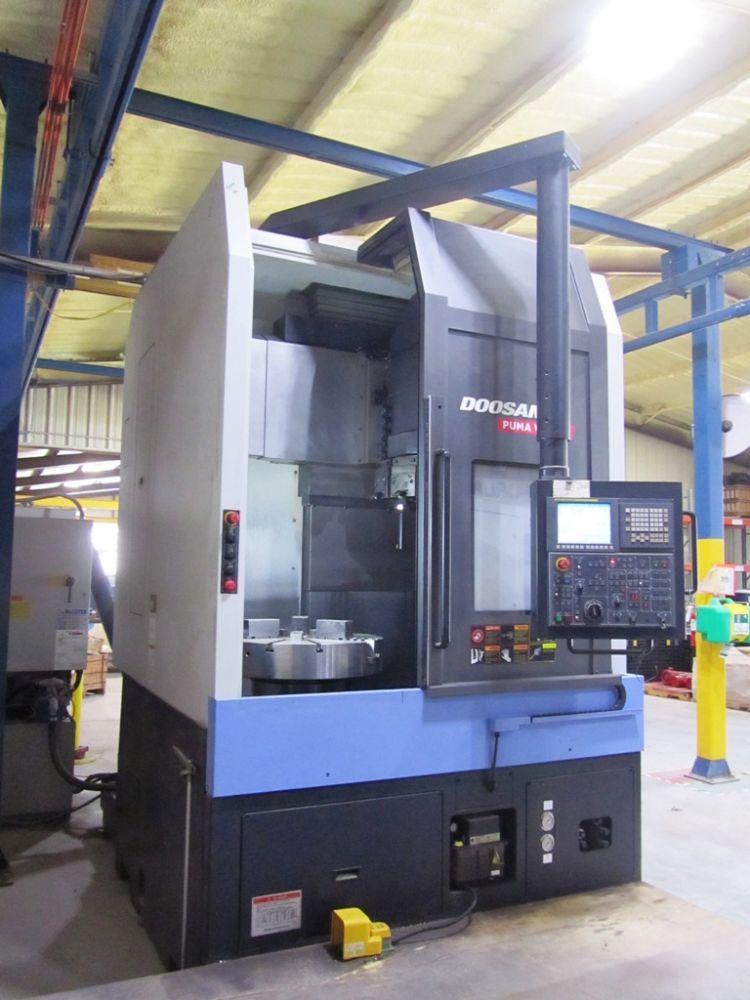 Day 2 - FORUM ENERGY - Doosan CNC Machine Shop, Induction Heating