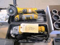 (3) Dewalt Electric Grinders