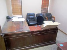 Office consisting of Desk, (2) Chairs
