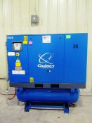 Qunicy Model QGS-30 30HP Screw Type All-In-One Air Compressor / Dryer