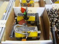 (2) Magmate 800lb Capacity Lifting Magnets