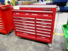 US General 13 Drawer Portable Toolbox