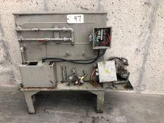 Trochoid Model TOP-208HWMR VD High Pressure Coolant Pump