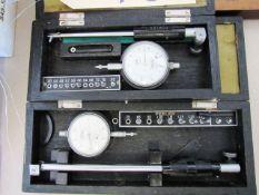 Fowler 0.75'' - 1.4'' & 0.40'' - 0.76'' Bore Gauges
