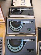 (3) Blade Micrometers