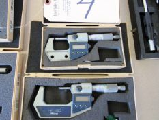 (2) Digital Micrometers