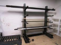 Cantilever Rack & Contents