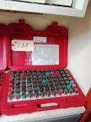 Hangda 0.917'' - 1.000'' M7 Pin Gauge Set