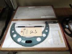 Mitutoyo 9'' - 10'' Standard Micrometer