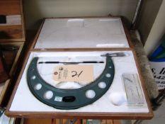 Mitutoyo 11'' - 12'' Standard Micrometer