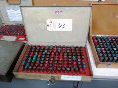 0.501'' - 0.625'' Pin Gauge Set