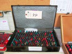 0.251'' - 0.500'' Pin Gauge Set