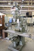 Ex-Cell-O Variable Speed Vertical Milling Machine