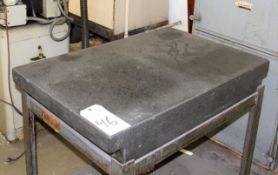 24'' x 36'' Granite Surplus Table